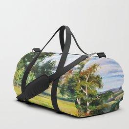 Birch Grove # 2 Duffle Bag