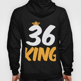 36. Birthday Present 36 Years Old Funny Gift Hoody