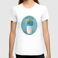 world cup T-shirts featuring World cup by Anne Seltmann