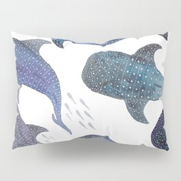 Whale Shark Pattern Party Pillow Sham