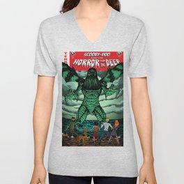 Horror From The Deep! Unisex V-Neck
