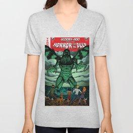 Horror From The Deep! Unisex V-Neck