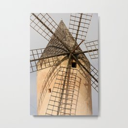 [mallorquin] ... ready for the winds! Metal Print