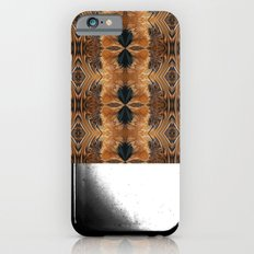 Brown Chicken Feathers Abstract Pattern iPhone 6s Slim Case