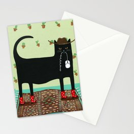 Best Mouser in The West Stationery Cards
