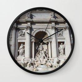 Fontana di Trevi Rome Italy Wall Clock