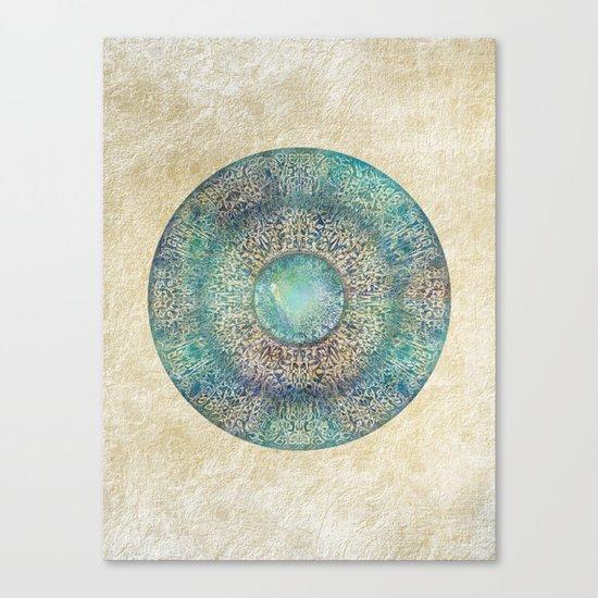 Moonchild Mandala Canvas Print
