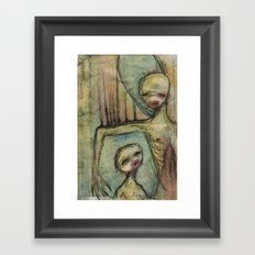 under my wing Framed Art Print
