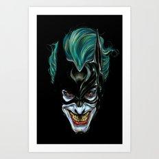 Joker - Darkest Knight  Art Print