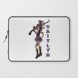 Caitlyn - League of Legends [marker sketch] Laptop Sleeve
