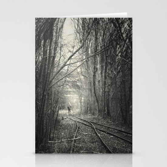from darkness into light Stationery Cards