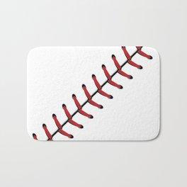 Baseball Lace line Bath Mat