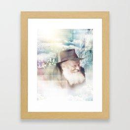 The Rebbe Framed Art Print