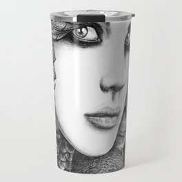 Wolf two Travel Mug