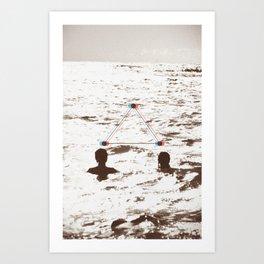 lovers_ Art Print