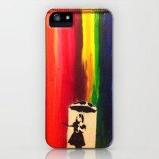 Raining colour  iPhone SE Slim Case