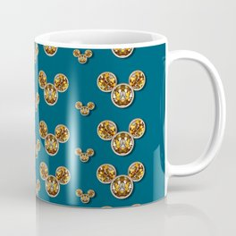 Cartoon animals in gold and silver gift decorations Coffee Mug