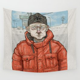 Lester Nygaard… He'd hate for your pretty face to freeze…  Wall Tapestry