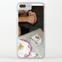 Coffee Table Clear iPhone Case