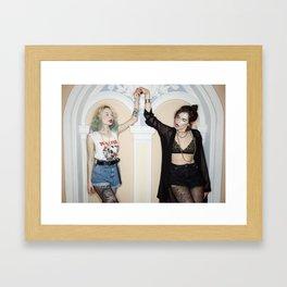 The Lost Tiara Framed Art Print