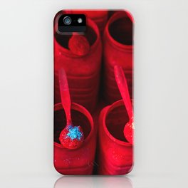 Red as Tikka iPhone Case