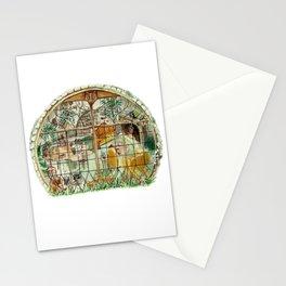 Wizard Window of Loyalty Stationery Cards