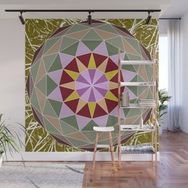 Spiny Star Wall Mural