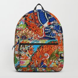 Tantric Buddhist Vajrabhairava Deity 3 Backpack