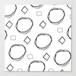 Logik Canvas Print
