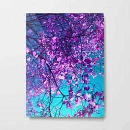purple tree XXIX Metal Print