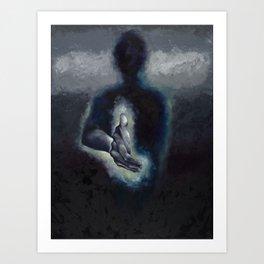 Body's Borders Art Print