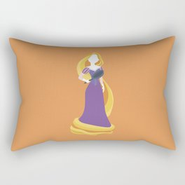 Princess Rapunzel Rectangular Pillow