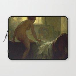 C F Goldie - La Femme au Bain Laptop Sleeve