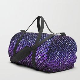 Crystal Bling Strass Purple G323 Duffle Bag
