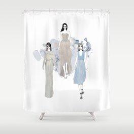 Fashionary 1 Shower Curtain