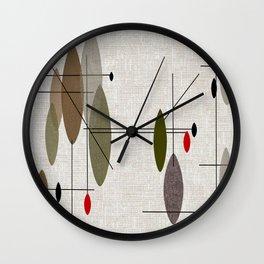 Hanging Orbs Wall Clock
