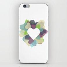 HEART HEART iPhone & iPod Skin