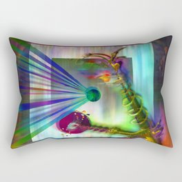 REMBERING CHILDHOOD ENTITIES Rectangular Pillow