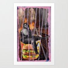 Big Mac Art Print