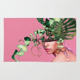 Lady Flowers VI Rug