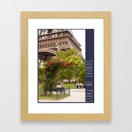 Photo: Sunday in Paris (2 June 13) Framed Art Print
