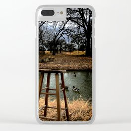 Stool - Color Clear iPhone Case