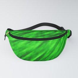 Emerald Pixel Wind Fanny Pack
