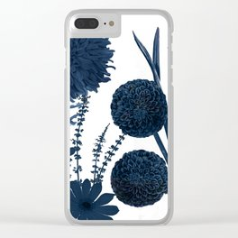 Blue Shift I Clear iPhone Case