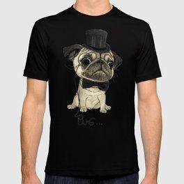Pug; Gentle Pug (v3) T-shirt