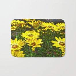 daisys flowers Bath Mat