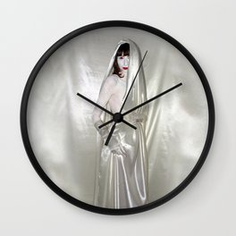 "say no to patriarchy / ""the sinner"" Wall Clock"
