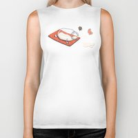 sport Biker Tanks featuring Sport Injuries by Zachary Huang
