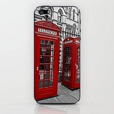 London phone home iPhone & iPod Skin