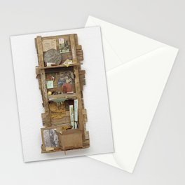 Fragmented Cabin Study in 1:10 Scale Stationery Cards